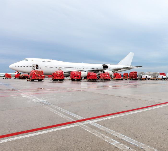 Ventana Serra trasporto mare aereo