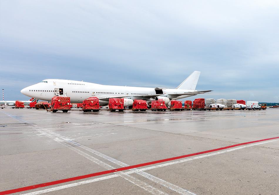 spedizioni merci aeree